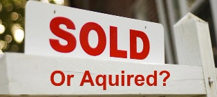 Was your current brokerage just sold or acquired by another firm?
