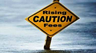 Are the fees rising at your firm?